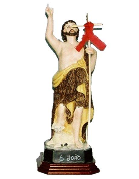 A918 - S. Jean Baptist 25cm in Porcelain