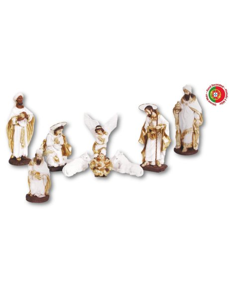 822 - Nativity 29x11cm in Resin