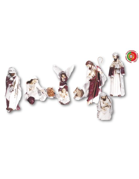 821 - Nativity 50x23cm in Resin
