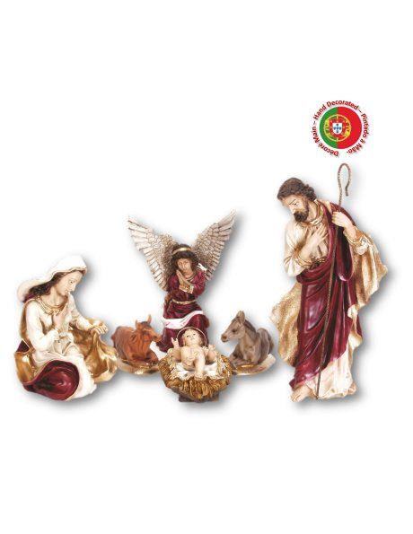 868 - Nativity 81x38,50cm in Resin