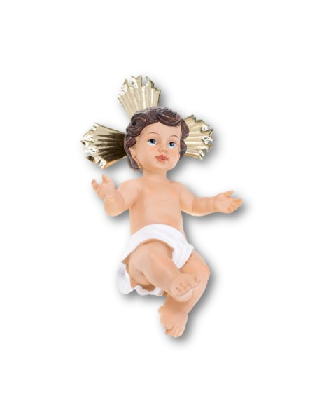 KJS2762/1A - Jesus Baby 24cm in Resin