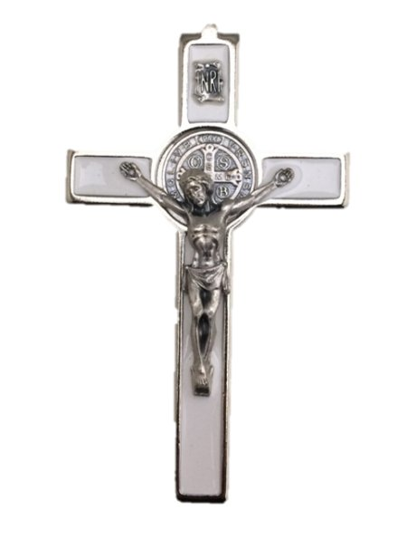SB/60/E - Cruz em Metal de S. Bento de Pendurar 6cm