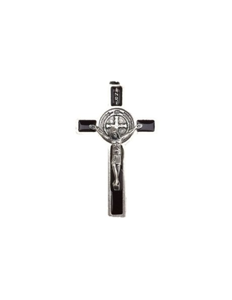 SB/35 - Cruz em Metal de S. Bento de Pendurar 3,5cm
