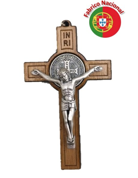CR2 - S. Benedict Wood Crucifix 8cm