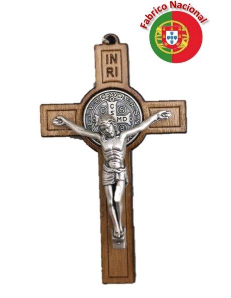 CR2- Cruz em Madeira de S. Bento 8cm