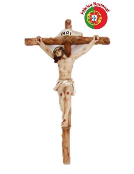 190 - Wall Resine Crucifix 40x20cm