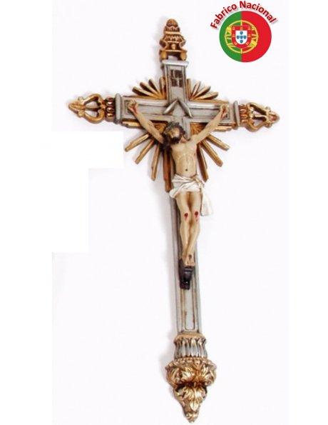 272 - Wall Resine Crucifix 61x35cm