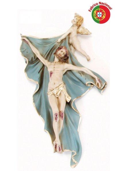 107 - Wall Jesus 39x23cm in Resine