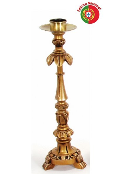 323 - Candlestick  46x14cm in Resine