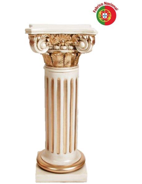 398 - Coluna 85x32cm em Resina