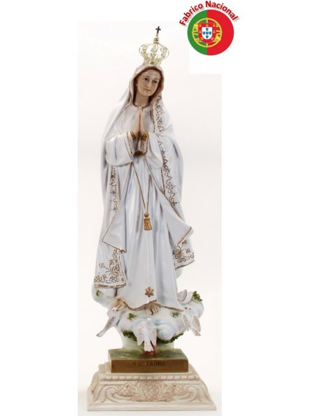 442 -  Our Lady of Fátima 78,50x23,50cm  in resine