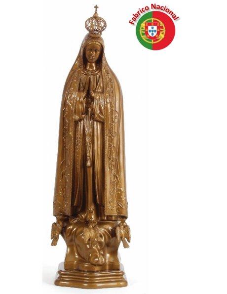 280 - Nª Srª de Fátima 59x19cm em Resina