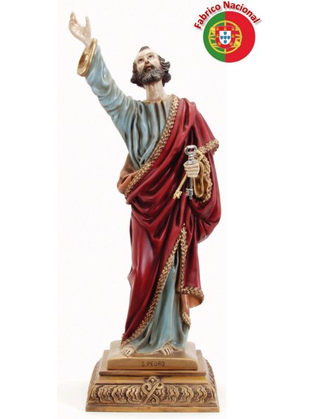 453 -  Saint Peter 73x23cm in resine