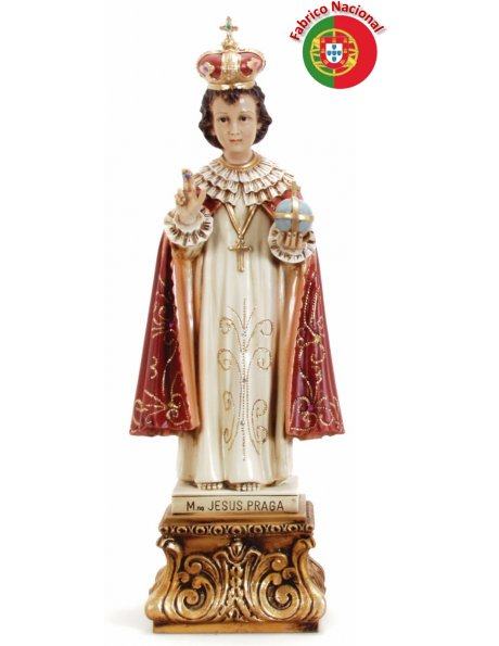386 - Infant Jesus of Prague 56x21cm in Resine