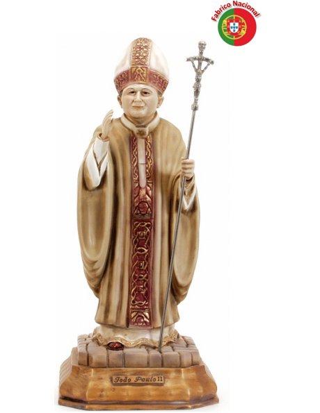 593 - Jean Paul II  48x19cm en Résine