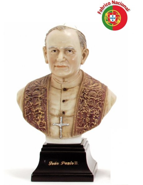 599  -  Chest Jean Paul II  33x21cm  in Resine