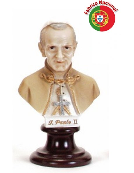 594  -  Chest Jean Paul II 16x09cm in Resine