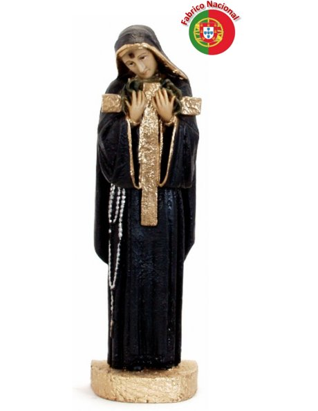 448 -  Saint Rita 37x13cm in resine