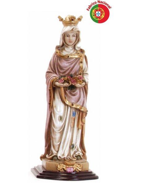 548 -  Saint Isabel 27,50x10,50cm in resine