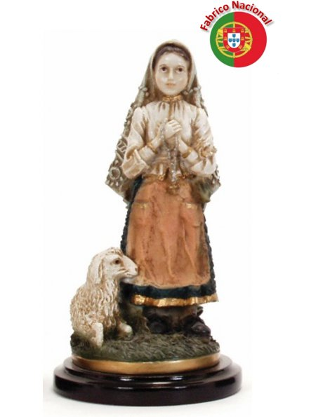 459 JACINTA - Saint Jacinta Marto 25X12cm in Resine