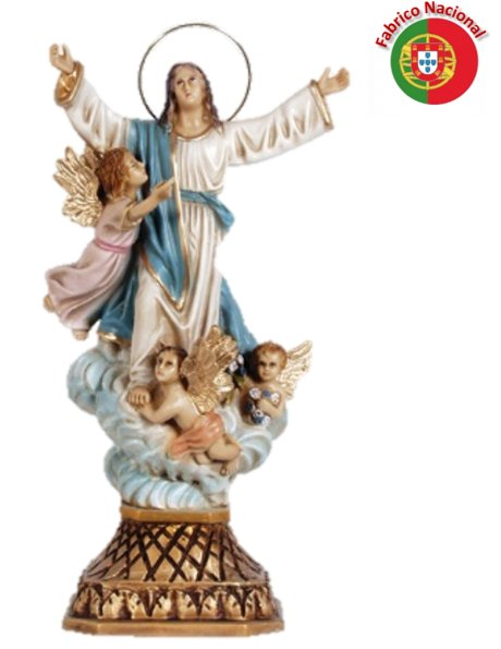 217 - Our Lady of Assumption 30x15cm in resine