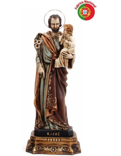 423 -  Saint Joseph 60x24cm in resine