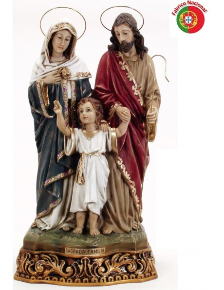 273 -  Holy Family 60x35cm in resine