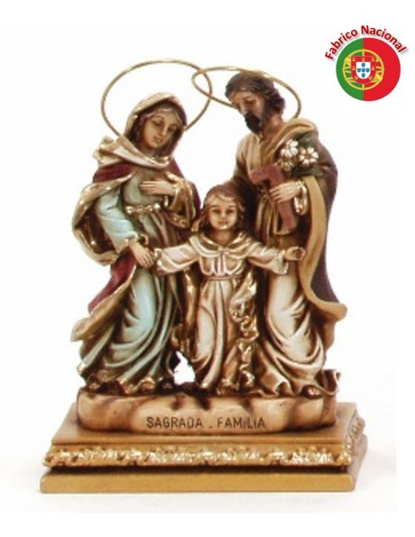 711 -  Holy Family 17x12cm in resine