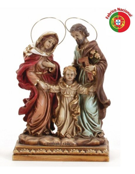 710 -  Holy Family 24x16cm  in resine