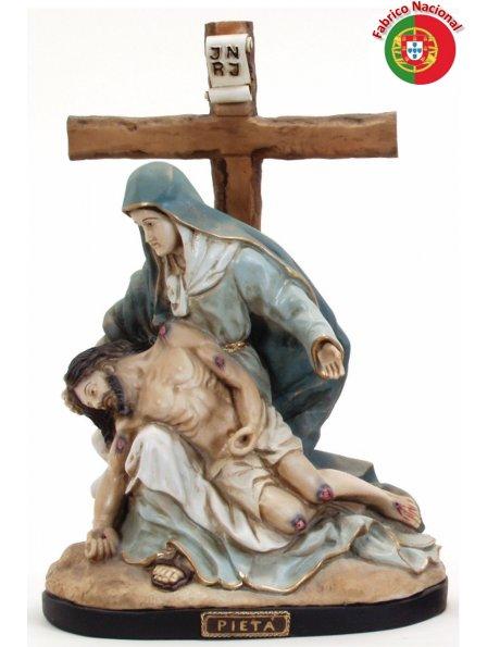 308 - Pieta 52x38cm in Resine