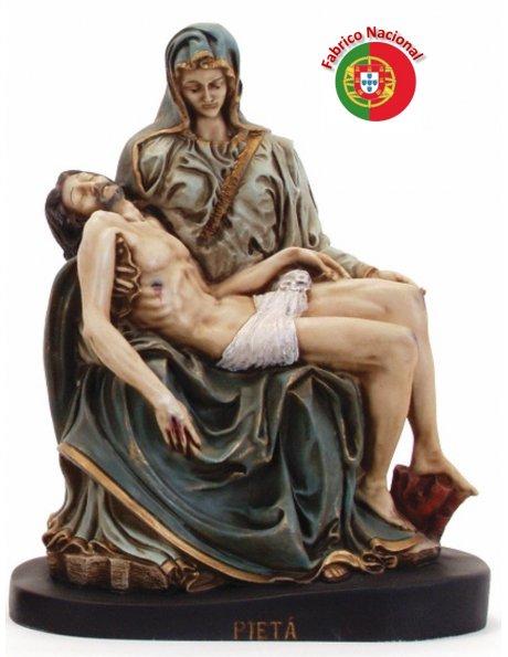 182 - Pieta 35x30cm in Resine