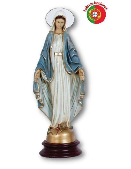 731 - Vierge Miraculeuse 42,50x12cm  en Résine