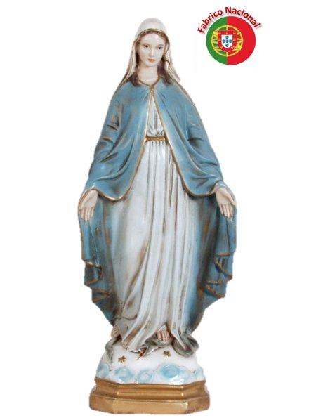 405 - Vierge Miraculeuse 47x19cm en Résine