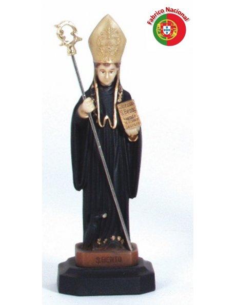 297 - Saint Benoit 18x6cm en Résine