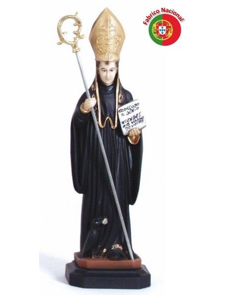 296 - Saint Benoit 26x7,50cm en Résine