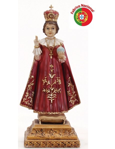 700 - Infant Jesus of Prague 44x17cm in Resine