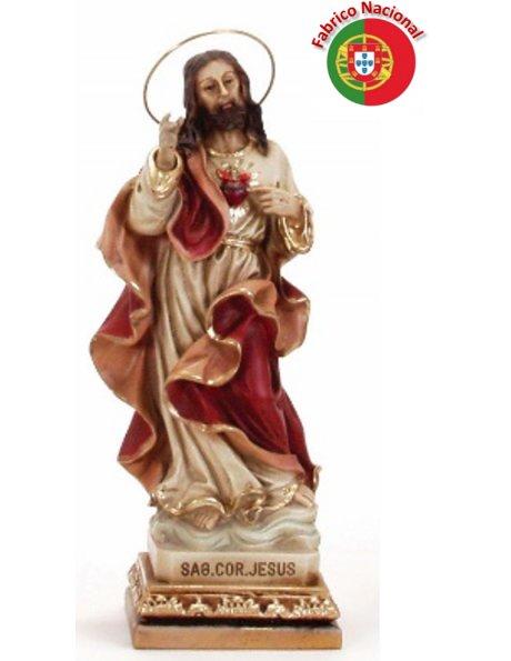 717 - S. Heart of Jesus 23x8cm   in Resine