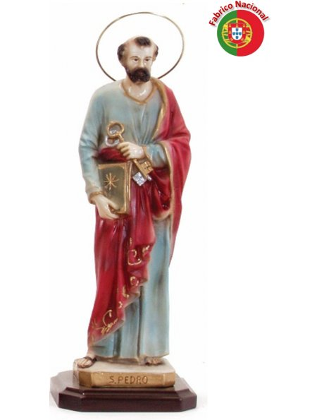 251 -  Saint Peter  31x11cm  in resine