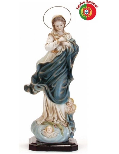 257 - Our Lady of Conception 32x15cm in Resine