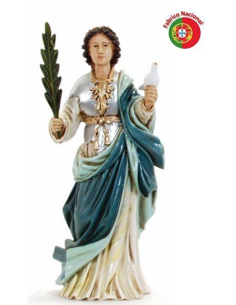 733 - Saint Eulália 35x12cm in Resine