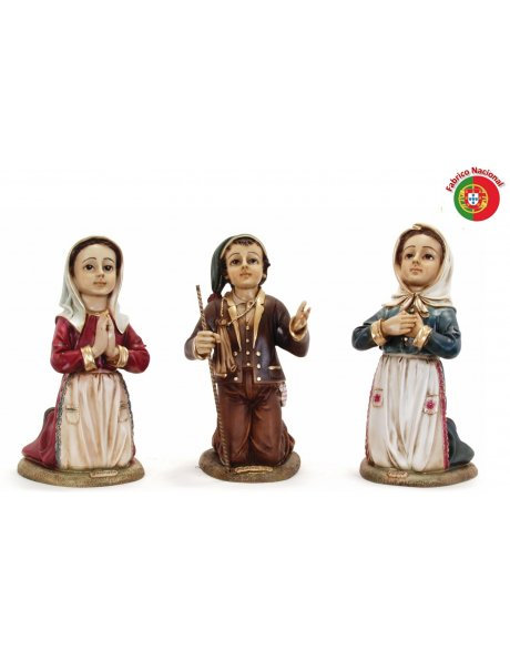 612 - Little Childrens of Fatima 32x15cm in Resine