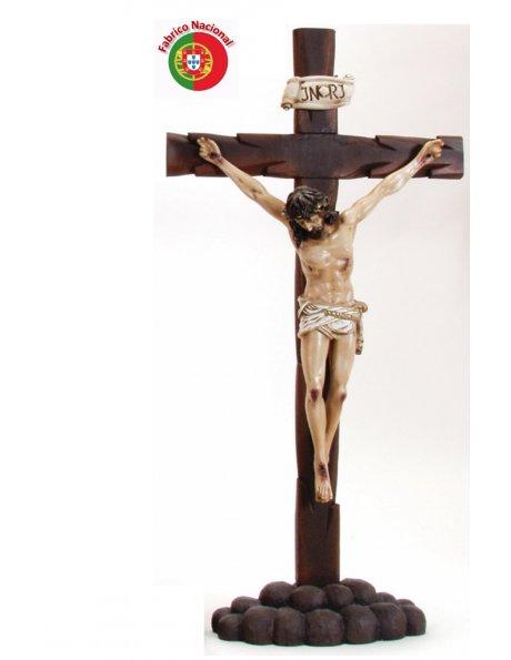 372 -  Crucifix 104x55cm  w/ Christ in Resine