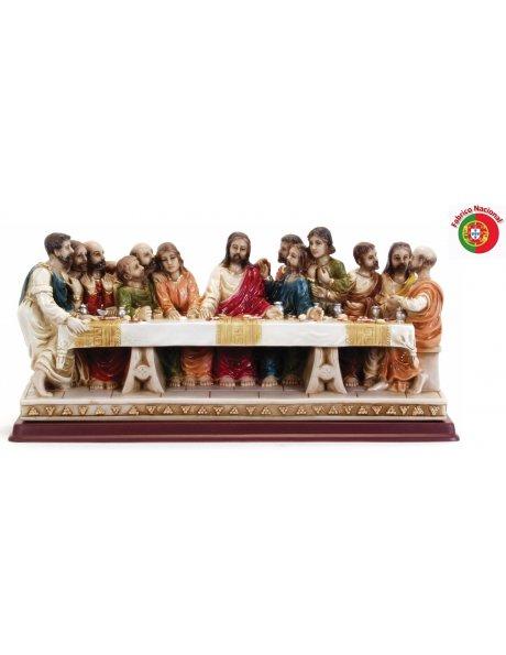 241 - Ceia de Cristo 21x44cm em Resina