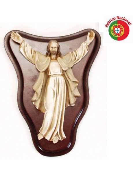 747 - Jesus Christ 20x15,5cm  in Resine