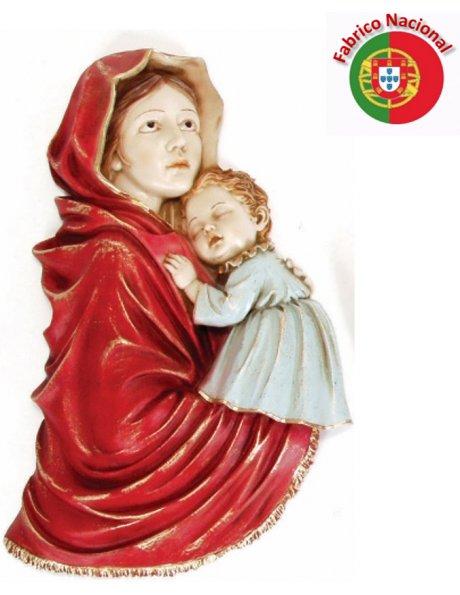 411 -  Amour de Mère  34x18,5cm en Résine