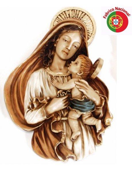 410 -  Amour de Mère  33x22cm en Résine