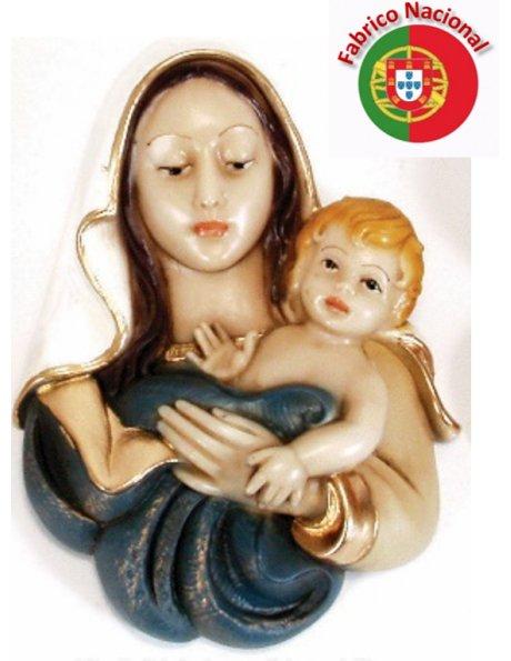 414 - Love of Mother 19x13cm in resine