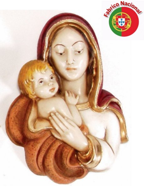 414/1 - Love of Mother 19x13cm in resine