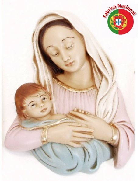 413 - Love of Mother 21,5x16cm in resine