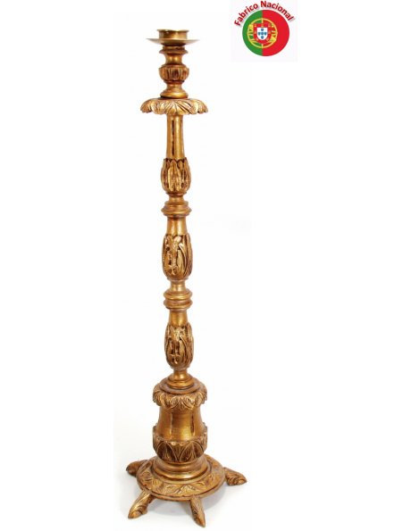 721 - Candlestick 133x37cm in Resine